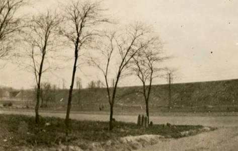 View of the Remsen Family Cemetery,1923
